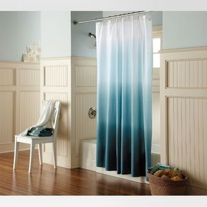 Ombré Fabric Shower Curtain